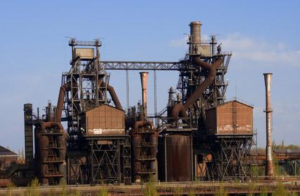 Demontage von Industrieanlagen